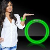 "Green Glow Bracelets-8""-50 Per Tube"