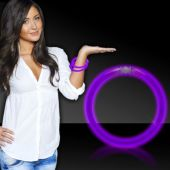 "Purple Glow Bracelets-8""- 50 Per Tube"