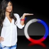 Red, White and Blue Glow Bracelets-50 pack