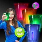 Neon Glow 12 oz Cups