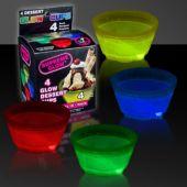 Glow Dessert Bowls-4 Pack
