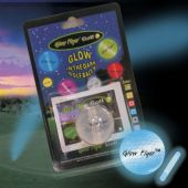 Blue Glow Flyer Golf Ball