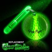 Green Replacement Glow Stick For The Glow Flyer Golf Ball