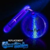 Blue Replacement Glow Stick For The Glow Flyer Golf Ball