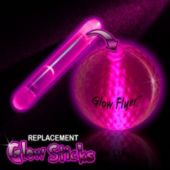 Pink Glow Stick For Glow Flyer Golf Ball