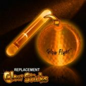 Orange Glow Stick For Glow Flyer Golf Ball