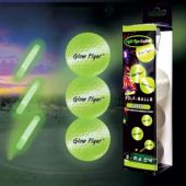 Green Glow Flyer Golf Balls-3 Pack