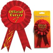 "Official Carver 6 1/2"" Ribbon"