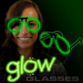 Green Glow Eyeglasses