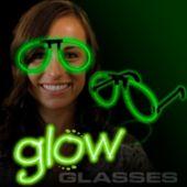 Green Glow Eyeglasses