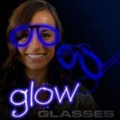 Blue Glow Eyeglasses