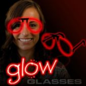 Red Glow Eyeglasses