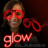 Red Glow Eyeglasses