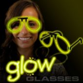 Yellow Glow Eyeglasses