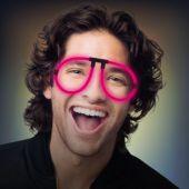 Pink Glow Eyeglasses