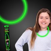 "Green Glow Necklace-22"" - Retail Pack"