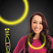 "Yellow Glow Necklace-22""- Retail Pack"