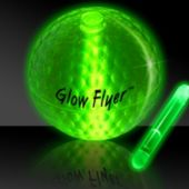 Glow Flyer Green Glowing Golf Ball