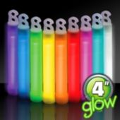 "4"" Glow Sticks - 50 Pack"