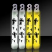 Religious Cross Glow Sticks - 25 Pack