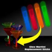 Martini Glow Sticks - 10 Pack