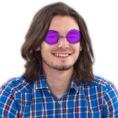 Lennon Style Sunglasses-12 Pack