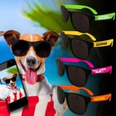 Neon Retro Sunglasses-12 Pack