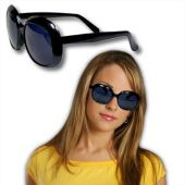 Black Rock Star Glamour Sunglasses - 12 Pack