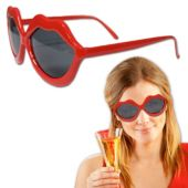 Red Lip Sunglasses-12 Pack