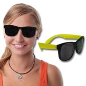 Neon Yellow Retro Sunglasses-12 Pack