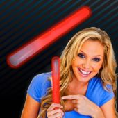 "Red Glow Sticks-10""-25 Pack"