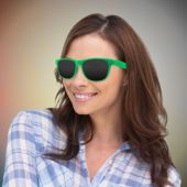 Green Wayfarer Sunglasses-12 Pack