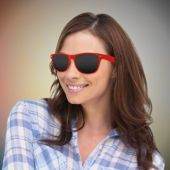 Red Retro Sunglasses-12 Pack