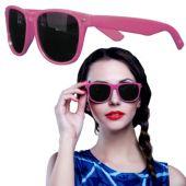 Pink Wayfarer Sunglasses-12 Pack