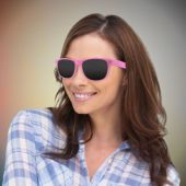 Pink Retro Sunglasses-12 Pack