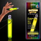 "Yellow Glow Stick-4""-Retail Pack"