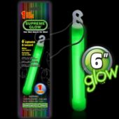 Green Glow Stick - 6 Inch, Retail Pack