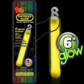 Yellow Glow Stick - 6 Inch, Retail Pack