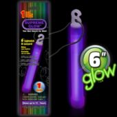 Purple Glow Stick - 6 Inch, Retail Pack