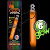 "Orange 6"" Glow Stick - Retail Pack"