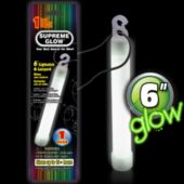 White Glow Stick - 6 Inch, Retail Pack