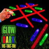 Glow in the Dark Tic Tac Toe Kit
