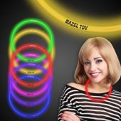 "Mazel Tov Glow Necklace-22""-50 Per Tube"