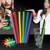 "Variety Pack Glow Straws and Bracelets-9"" -25 Pack"