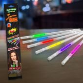 "Assorted Color Glow Straws-9""-6 Per Unit"