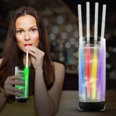 "Variety Glow Motion Straw-9""-25 Pack"