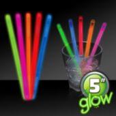 """5"""" Glow Swizzle Sticks - 50 Pack"""