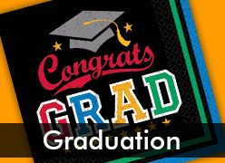 Graduation Party Supplies & Decorations