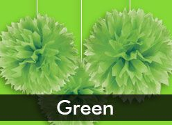 Green-Themed Party Supplies & Decorations