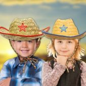 Kid's Cowboy Hats - 12 Pack